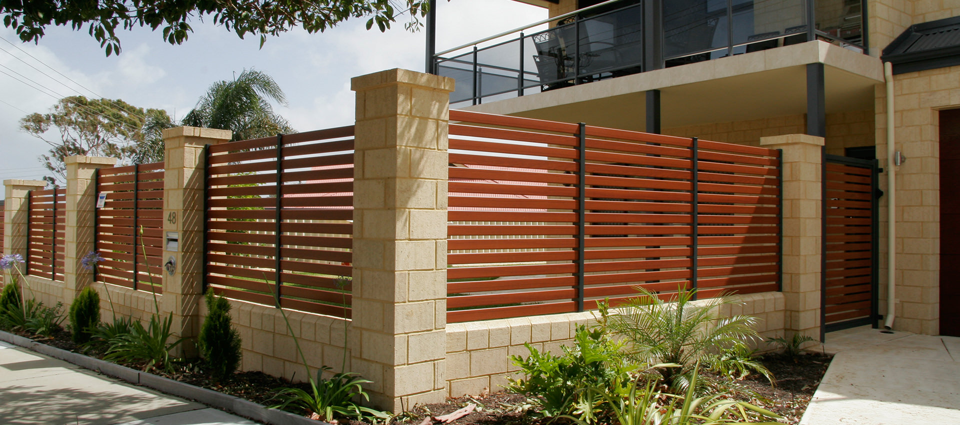 Aluminium Fencing Slat Shade Blinds Perth