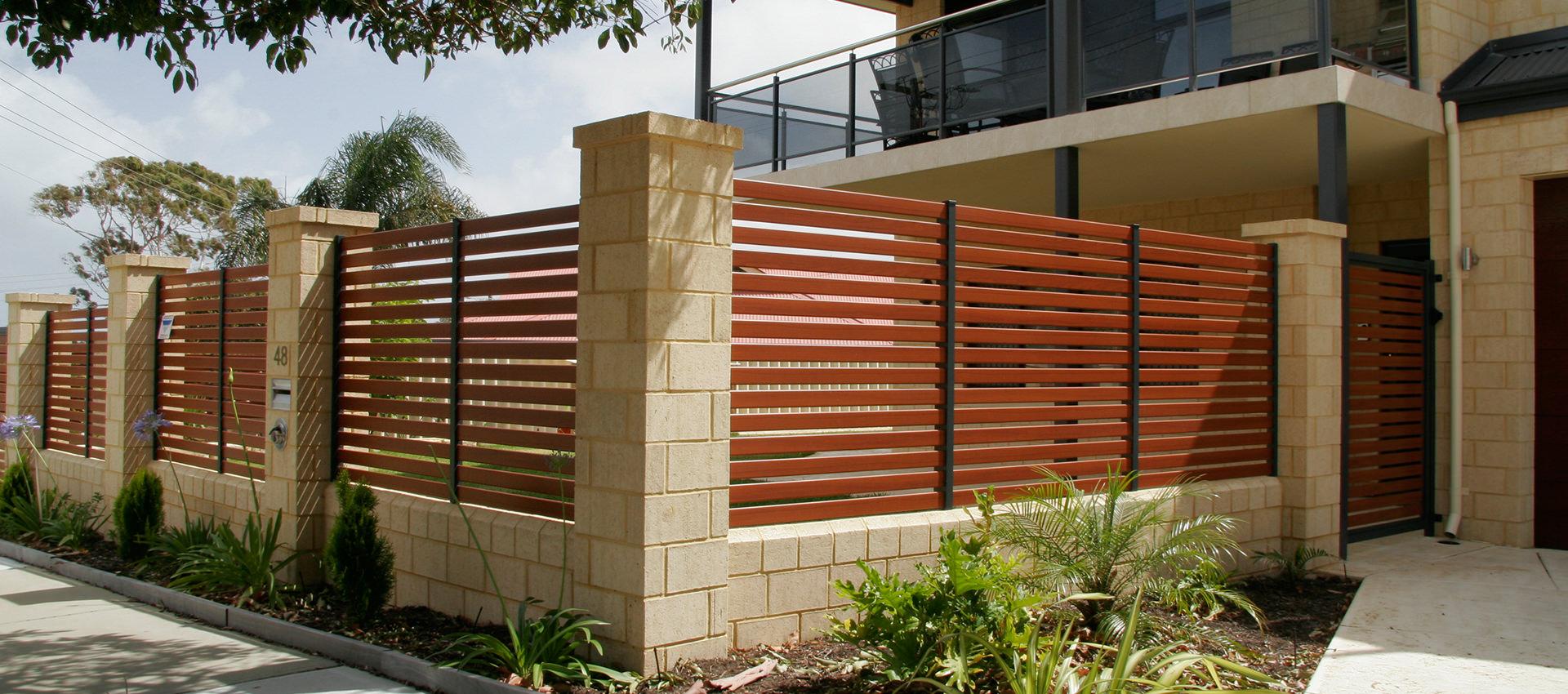 Aluminium Fencing Slat Shade Blinds Perth